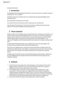 thumbnail of Fillongley Neighbourhood Plan Consultation Statement (August 2018)