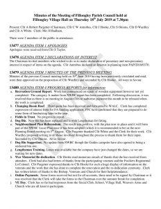 thumbnail of Minutes July 2019 Draft