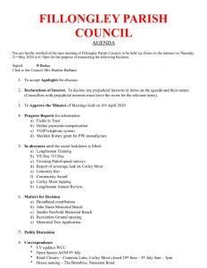 thumbnail of Agenda May 2020